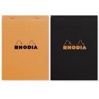 CLAIREFONTAINE Bloc Agrafé Rhodia N°16 14,8 x 21 cm