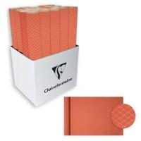 CLAIREFONTAINE Rouleau de papier Cadeau Fleurs - Sous film - 70 g/m² - Rouge