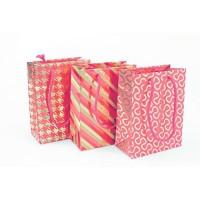 CLAIREFONTAINE Sac moyen format - Sans carton Premium - Motifs assortis - Rouge