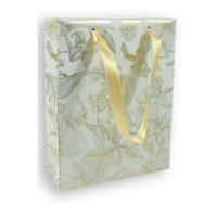 CLAIREFONTAINE Sac moyen format Premium Trésor Fleurs - 17 x 6 x 22 cm