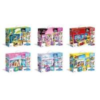 CLEMENTONI - Disney Classiques - Lot de 12 Cubes Multi play - Modele aléatoire