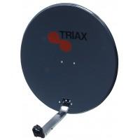 Triax steel dish 64cm antrazit