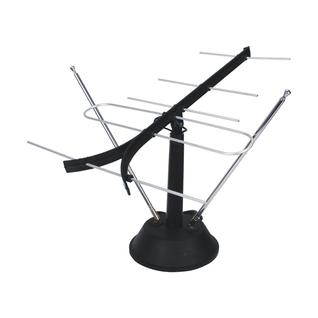 10346 antenne fm vhf uhf d 39 interieur k nig antenne d for Antenne de tv interieur