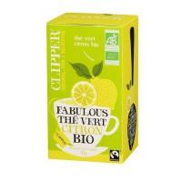 CLIPPER Thé Vert Citron Bio 35g