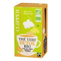 CLIPPER Thé Vert Detox Bio 40g