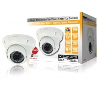 König security camera with Sony Effio™ digital signal processor and varifocal lens