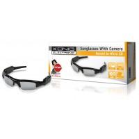 König lunettes de soleil avec caméra espion