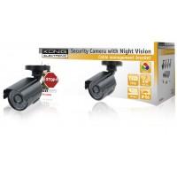 König caméra CCTV avec LED IR