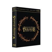 Coffret Blu-Ray Trilogie Le Seigneur des Anneaux : La communauté de l'anneau, Les deux tours & Le retour du roi