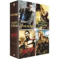 Coffret DVD Guerriers de Légende, 4 films