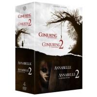 Coffret DVD Horreur 4 films : Annabelle 1 et 2, Conjuring 1 et 2