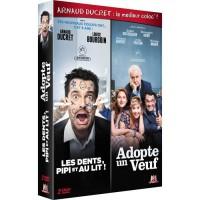 Coffret DVD la coloc c'est plus cool avec Arnaud Ducret dedans ! 2 films : Les dents, Pipi et au lit & Adopte un veuf