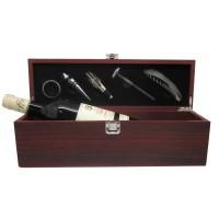 Coffret Vin 5 accessoires + Bordeaux