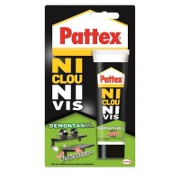 Colle Ni clou ni vis démontable Pattex - Tube 100 g
