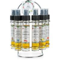 COLLITALI FARANDOLE présentoir 6 tubes sprays HUILE D'OLIVE aromatisation naturelle 30 ml,100% Italie