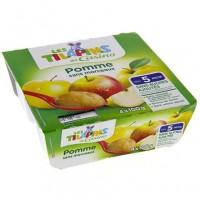 Compote Pomme Banane Bio - Lot de 4 x 100 g