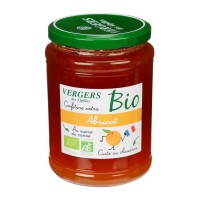 Confiture extra abricot bio - Vergers des Alpilles - 370 g