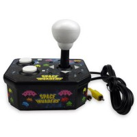 Console avec jeu vidéo intégré Space Invaders TV Arcade Plug & Play