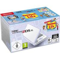 Console New Nintendo 2DS XL Blanc/Lavande & Tomodachi Life Préinstallé