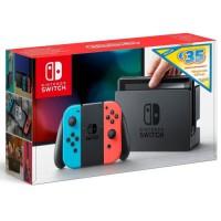 Console Nintendo Switch avec Joy-Con bleu néon et Joy-Con rouge néon Edition Limitée + code téléchargement 35? Nintendo eShop