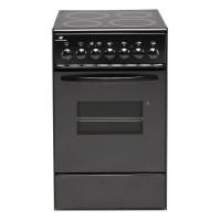Continental Edison CVMC5060B - Cuisiniere table vitroceramique- 4 Foyers- 1700W- Four électrique-Catalyse-45,36L-A-L49X83cm-Noir