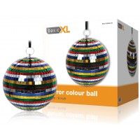 BOULE A FACETTES COLOREE BASIC XL