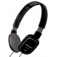 Panasonic Stylish lightweight headphones with newly developed speaker