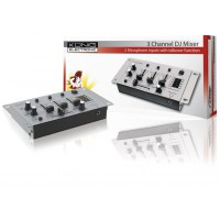 König table de mixage 3 canaux