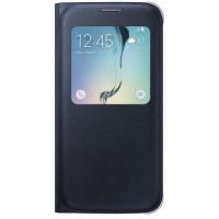 coque Flip portefeuille / Livro FANCY Samsung Galaxy S8 Edge / Plus - couleur:bleu marine/rouge