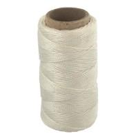Cordon de tirage - 10 m / Ø 4 mm - Polypropylene - Blanc
