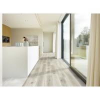 CORETEC 2,66 m2 - 12 Lames vinyles pvc clipsables 122,2 x 18,2 cm chene . Sous couche liege.