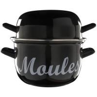 COSY & TRENDY Marmite a moule - D18cm Noir-1.2Kg-2.8L