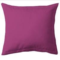 COTE DECO Taie d'Oreiller 100% coton 63x63 cm - Violet