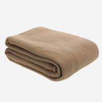 Couv. Polaire 350g/m2 TAUPE 220x240cm