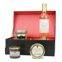 D de TOULZAC M. de Turenne Coffret de foie gras, chutney, canelés et vin
