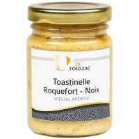 D de TOULZAC Toastinelle Roquefort Noix 80g