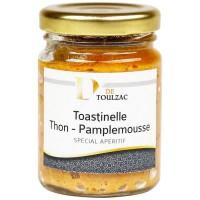 D de TOULZAC Toastinelle Thon Pamplemousse 80g