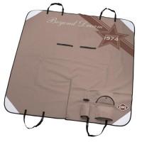 D&D Plaid de protection pour voiture Beyond dreams - 150x145cm - Marron