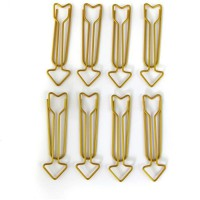 D.I.Y WITH TOGA 8 Maxi Trombones Fleches Or