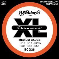DADDARIO ECG26 Jeu de cordes en chromes pour guitare électrique - 13-17-26-35-45-56
