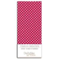 DAILYLIKE Coupon 110x90 cm - Daisy Fond Fuchsia