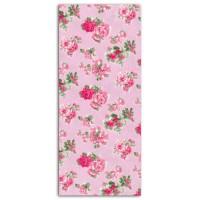 DAILYLIKE Coupon 110x90 cm - Rose Fleurs Rose