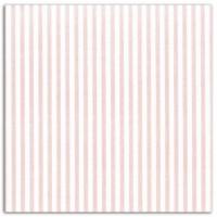 DAILYLIKE Coupon Coton 160x90 cm - Raies Rose Blanc