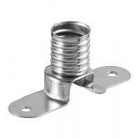 Support de lampe E10-plongée / Base / Socket max. 10 W / 24 V (DC), queue de soudure (U)