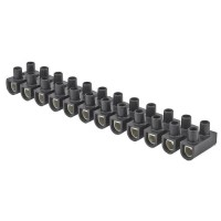 DEBFLEX Barrette de connexion 25 mm² noir