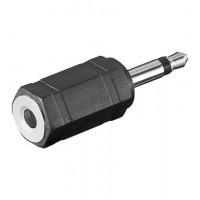 Adaptateur Audio Fiche 3,5 mm (2 br, Mono) 3,5 mm prise (3 br, stéréo)