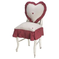 DEKOANDCO Petite housse de chaise Axelle