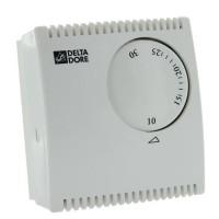 DELTA DORE Thermostat d'ambiance mécanique filaire Tybox 10 230 V pour chaudiere