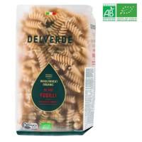DELVERDE - Pâtes Fusilli Pasta a la semoule de blé dur complete - BIO - 500 G