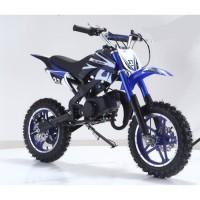 DIRT BIKE Mini moto 50 cc 2 Temps Enfant - Bleu - Livrée Prete a Rouler